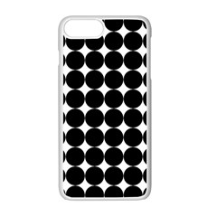 Dotted Pattern Png Dots Square Grid Abuse Black Apple Iphone 7 Plus White Seamless Case by Mariart