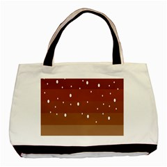 Fawn Gender Flags Polka Space Brown Basic Tote Bag by Mariart