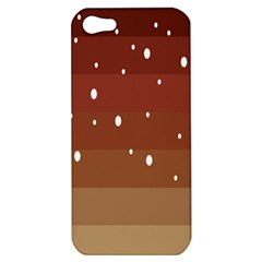 Fawn Gender Flags Polka Space Brown Apple Iphone 5 Hardshell Case by Mariart
