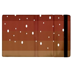 Fawn Gender Flags Polka Space Brown Apple Ipad 3/4 Flip Case by Mariart