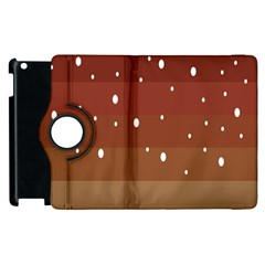 Fawn Gender Flags Polka Space Brown Apple Ipad 2 Flip 360 Case by Mariart