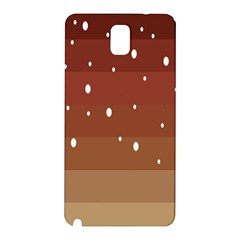 Fawn Gender Flags Polka Space Brown Samsung Galaxy Note 3 N9005 Hardshell Back Case by Mariart