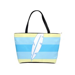 Feather Flags Shoulder Handbags by Mariart