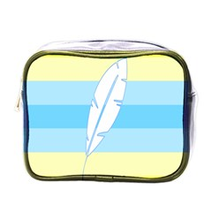 Feather Flags Mini Toiletries Bags by Mariart