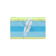 Feather Flags Cosmetic Bag (xs) by Mariart