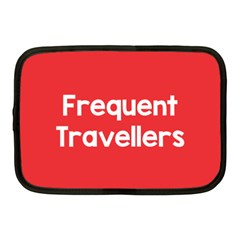 Frequent Travellers Red Netbook Case (medium)  by Mariart