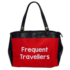 Frequent Travellers Red Office Handbags by Mariart