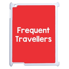 Frequent Travellers Red Apple Ipad 2 Case (white) by Mariart