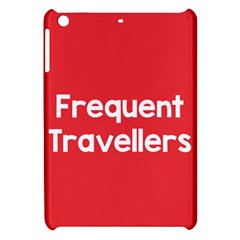 Frequent Travellers Red Apple Ipad Mini Hardshell Case by Mariart