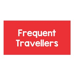 Frequent Travellers Red Satin Shawl by Mariart