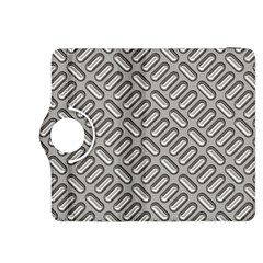 Capsul Another Grey Diamond Metal Texture Kindle Fire Hdx 8 9  Flip 360 Case by Mariart