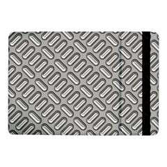 Capsul Another Grey Diamond Metal Texture Samsung Galaxy Tab Pro 10 1  Flip Case by Mariart