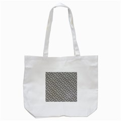 Capsul Another Grey Diamond Metal Texture Tote Bag (white) by Mariart