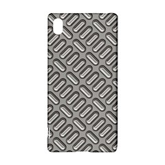 Capsul Another Grey Diamond Metal Texture Sony Xperia Z3+ by Mariart