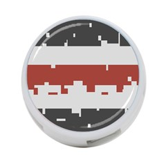 Girl Flags Plaid Red Black 4 Port Usb Hub (one Side) by Mariart