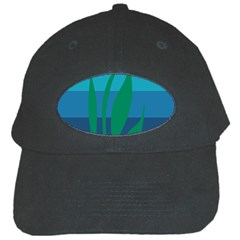 Gender Sea Flags Leaf Black Cap by Mariart