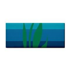 Gender Sea Flags Leaf Cosmetic Storage Cases by Mariart