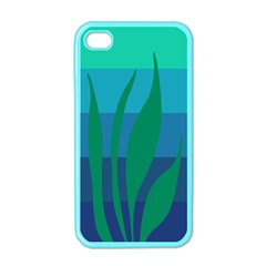 Gender Sea Flags Leaf Apple Iphone 4 Case (color) by Mariart