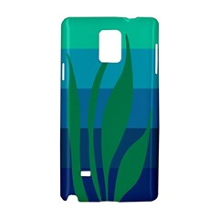 Gender Sea Flags Leaf Samsung Galaxy Note 4 Hardshell Case by Mariart