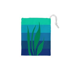 Gender Sea Flags Leaf Drawstring Pouches (xs)  by Mariart