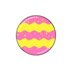Glimra Gender Flags Star Space Hat Clip Ball Marker (4 Pack) by Mariart