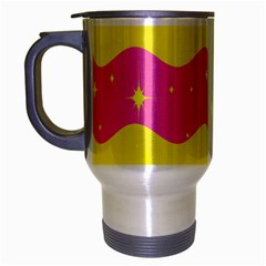 Glimra Gender Flags Star Space Travel Mug (silver Gray) by Mariart
