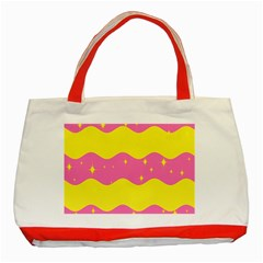 Glimra Gender Flags Star Space Classic Tote Bag (red) by Mariart