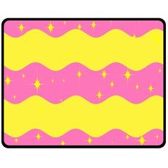 Glimra Gender Flags Star Space Double Sided Fleece Blanket (medium)  by Mariart