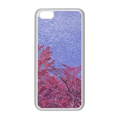 Fantasy Landscape Theme Poster Apple Iphone 5c Seamless Case (white) by dflcprints