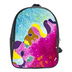 Fabric Rainbow School Bags (xl)  by Mariart
