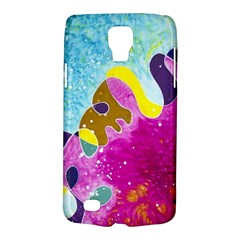 Fabric Rainbow Galaxy S4 Active by Mariart
