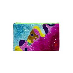 Fabric Rainbow Cosmetic Bag (xs) by Mariart