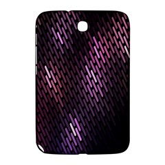 Light Lines Purple Black Samsung Galaxy Note 8 0 N5100 Hardshell Case  by Mariart
