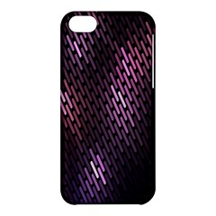 Light Lines Purple Black Apple Iphone 5c Hardshell Case by Mariart