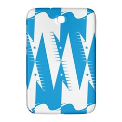 Make Tessellation Bird Tessellation Blue White Samsung Galaxy Note 8 0 N5100 Hardshell Case