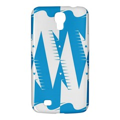 Make Tessellation Bird Tessellation Blue White Samsung Galaxy Mega 6 3  I9200 Hardshell Case by Mariart
