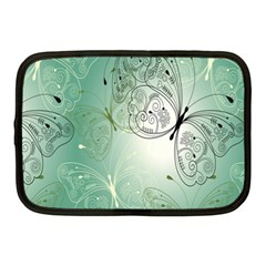 Glass Splashback Abstract Pattern Butterfly Netbook Case (medium)  by Mariart