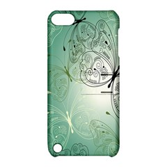 Glass Splashback Abstract Pattern Butterfly Apple Ipod Touch 5 Hardshell Case With Stand by Mariart