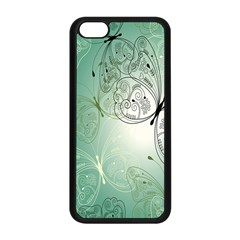 Glass Splashback Abstract Pattern Butterfly Apple Iphone 5c Seamless Case (black) by Mariart