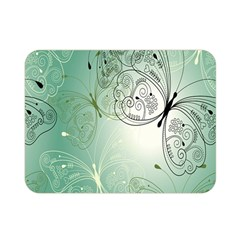Glass Splashback Abstract Pattern Butterfly Double Sided Flano Blanket (mini)  by Mariart
