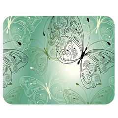 Glass Splashback Abstract Pattern Butterfly Double Sided Flano Blanket (medium)  by Mariart