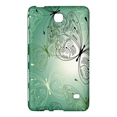 Glass Splashback Abstract Pattern Butterfly Samsung Galaxy Tab 4 (8 ) Hardshell Case  by Mariart