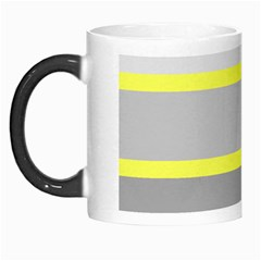 Molly Gender Line Flag Yellow Grey Morph Mugs by Mariart