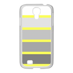 Molly Gender Line Flag Yellow Grey Samsung Galaxy S4 I9500/ I9505 Case (white) by Mariart
