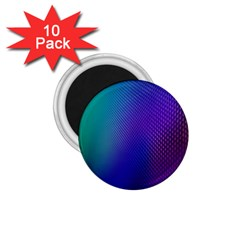 Galaxy Blue Purple 1 75  Magnets (10 Pack)  by Mariart