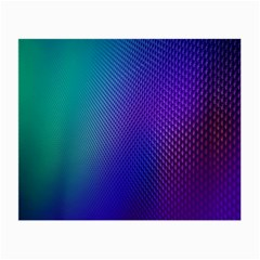 Galaxy Blue Purple Small Glasses Cloth (2 Side) by Mariart