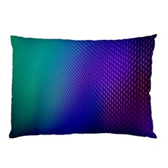 Galaxy Blue Purple Pillow Case by Mariart