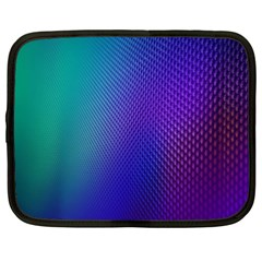 Galaxy Blue Purple Netbook Case (xxl)  by Mariart