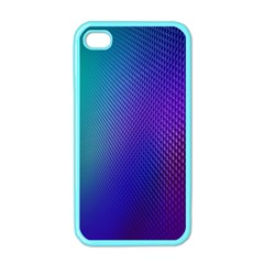 Galaxy Blue Purple Apple Iphone 4 Case (color) by Mariart
