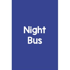 Night Bus New Blue 5 5  X 8 5  Notebooks by Mariart